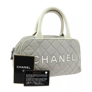 Chanel Satchel in Gray