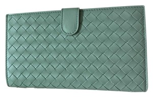 Bottega Veneta BV Light Blue Wallet