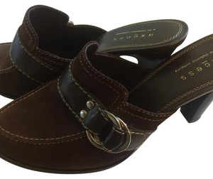Axcess Dark brown Mules