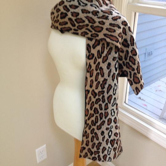 Worldly Things NYC Knit Leopard Wrap Image 1