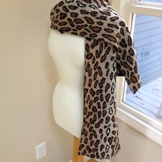 Worldly Things NYC Knit Leopard Wrap Image 10