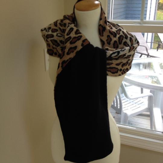 Worldly Things NYC Knit Leopard Wrap Image 2