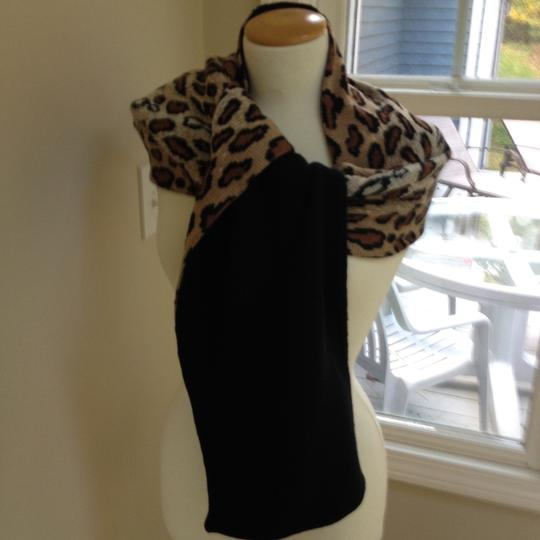 Worldly Things NYC Knit Leopard Wrap Image 4