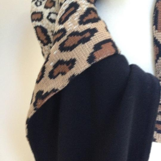 Worldly Things NYC Knit Leopard Wrap Image 7