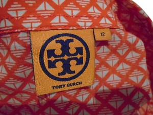 Tory Burch Longsleeve Top Coral & White