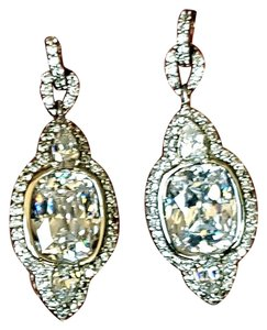 Neiman Marcus Neiman Marcus Swarovski Crystal Hanging Earrings