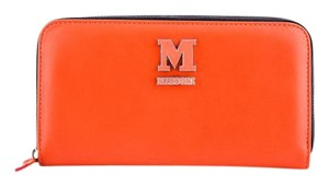 Missoni * Missoni Orange Zip Around Wallet