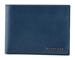 Burberry * Burberry London Leather Hipfold Wallet