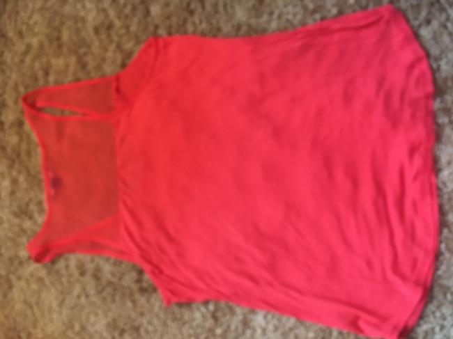 Trouvé Sheer Sleeveless Top Melon Image 3