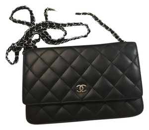 Chanel Woc Classic Lambskin Cross Body Bag
