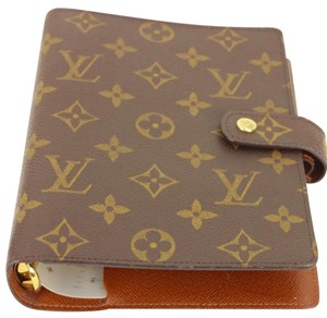 Louis Vuitton MM Agenda with RARE LV Ruler * Trusted Tradesy Selller *