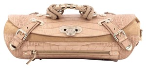 Versace Crocodile Leather Satchel