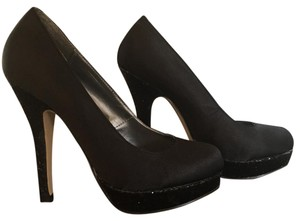 Madden Girl Black Platforms
