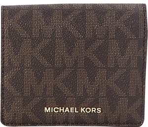 Michael Kors Michael Kors Jet Set Travel Carryall Card Case - Brown