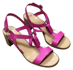 Salvatore Ferragamo Pink Sandals