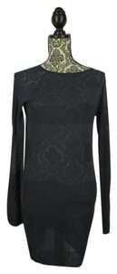 T by Alexander Wang short dress Indigo Boat Neck on Tradesy