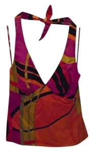 Trina Turk Multi Halter Top