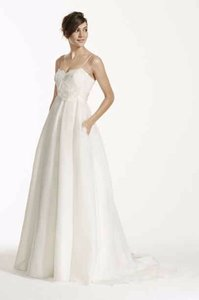 Galina Spaghetti Strap Empire Waist Ball Gown Wedding Dress