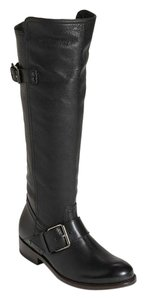 DV by Dolce Vita Leather Knee High Tall Black Boots