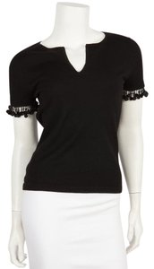 Naeem Khan Top Black