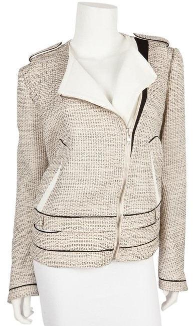 Preload https://img-static.tradesy.com/item/19851023/o-2nd-cream-and-black-and-textured-woven-moto-jacket-size-8-m-0-1-650-650.jpg