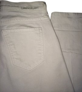Current/Elliott Straight Leg Jeans-Light Wash