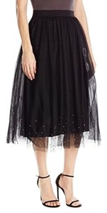 Bailey 44 Tulle Rhinestones Fancy Skirt black