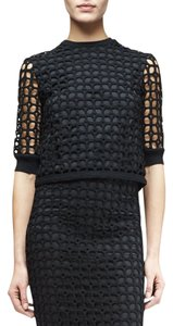 Lela Rose Dvf Isabel Marant Iro Top Black