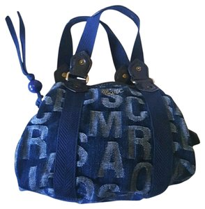 Marc Jacobs Marc Denim Monogram Tote in Blue