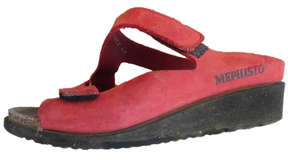 1a52078f7f7 Mephisto Bright Coral Similar To Elka Or Ulda Sandals Size US 9.5 ...