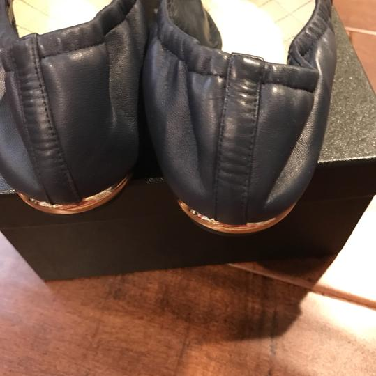 Chanel Navy Blue Flats Image 2