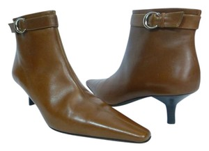 Coach Leather Brown Boots