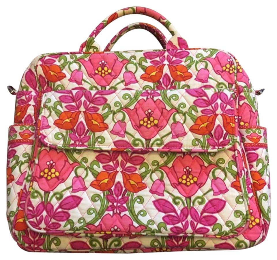 vera bradley pink floral diaper bag tradesy. Black Bedroom Furniture Sets. Home Design Ideas