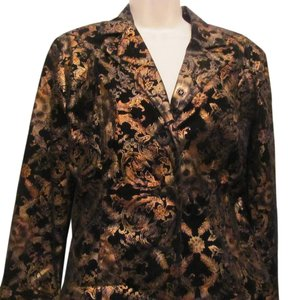 Erin London COOPER GOLD BLACK Blazer