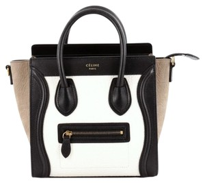 Cline Celine Luggage Leather Tote