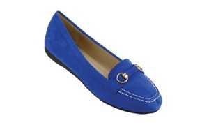 Red Circle Footwear Royal Blue Flats