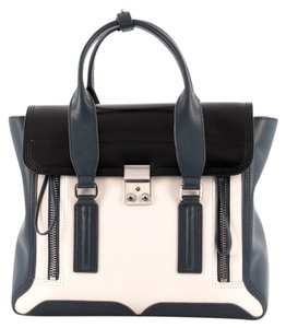 3.1 Phillip Lim Leather Satchel in White