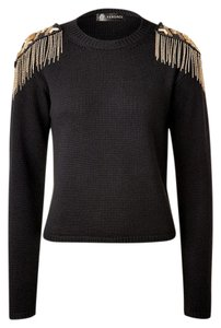 Versace Wool Embellished Sweater