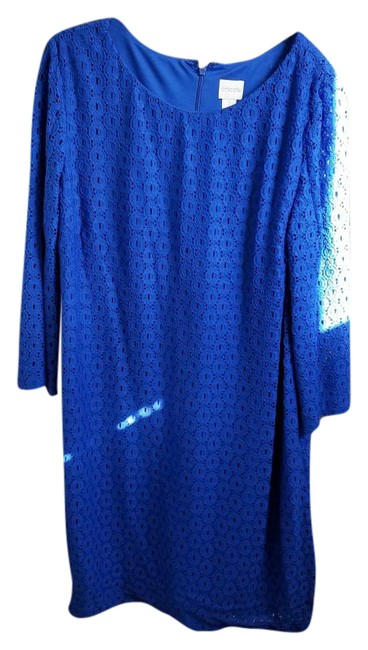 Preload https://img-static.tradesy.com/item/19851636/chico-s-blue-570176367-mid-length-cocktail-dress-size-12-l-0-1-650-650.jpg