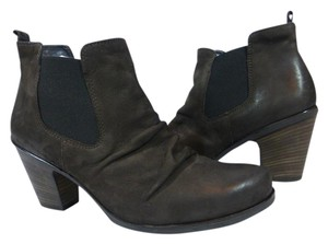 Paul Green Leather Brown Boots