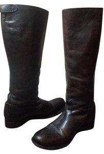 Frye Leather Knee High brown Boots