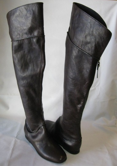 Via Spiga Leather Brown Boots Image 1