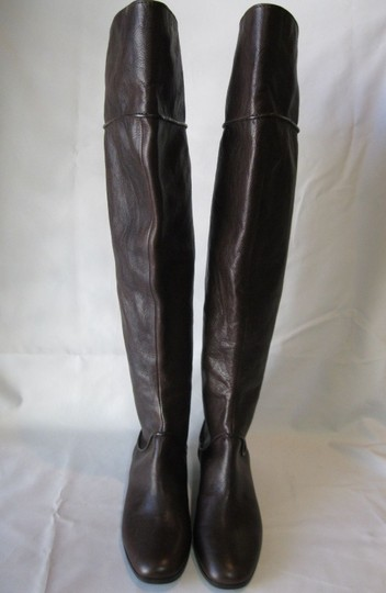 Via Spiga Leather Brown Boots Image 2