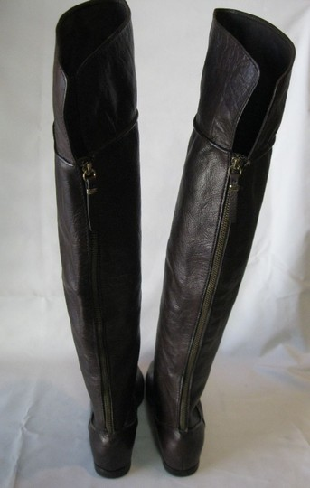 Via Spiga Leather Brown Boots Image 3