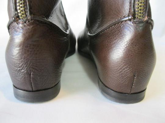 Via Spiga Leather Brown Boots Image 4