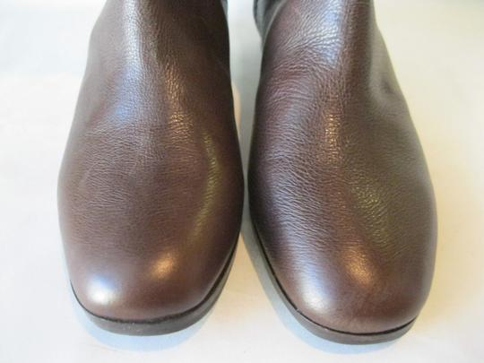 Via Spiga Leather Brown Boots Image 5