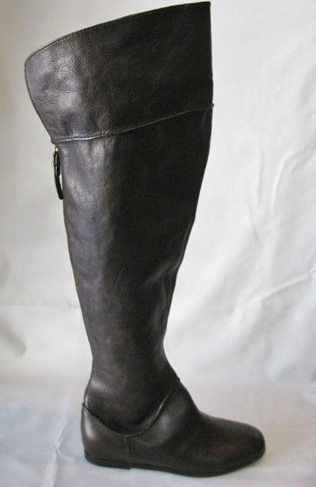 Via Spiga Leather Brown Boots Image 6