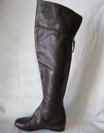 Via Spiga Leather Brown Boots Image 7