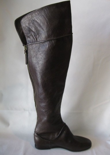 Via Spiga Leather Brown Boots Image 8