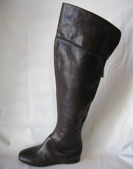 Via Spiga Leather Brown Boots Image 9